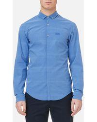 BOSS Green - Burris S Long Sleeve Shirt - Lyst