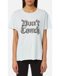 Juicy Couture - Juicy By Juicy Don't Touch Embellished T-shirt - Lyst