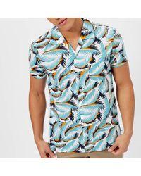 BOSS Orange - Esalsa Printed Short Sleeve Shirt - Lyst
