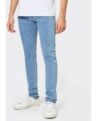 0f5e957c Edwin Ed-80 Slim Tapered Red Listed Selvedge Jeans in Blue for Men - Lyst