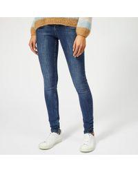 Gestuz - Emily High Waist Skinny Jeans - Lyst