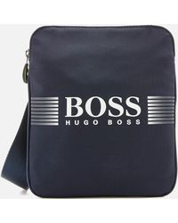 BOSS Green - Pixel Small Bag - Lyst