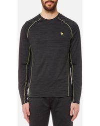 Lyle & Scott - Jenkins Long Sleeve Training T-shirt - Lyst