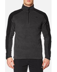 The North Face - Glacier Delta 1/4 Zip Fleece - Lyst