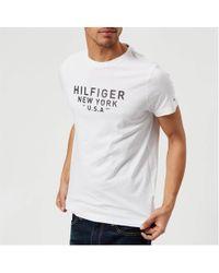 Tommy Hilfiger - Benton Crew Neck Short Sleeve T-shirt - Lyst
