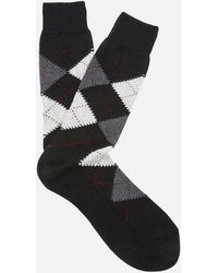 Pantherella - Turnmil Egyption Cotton Argyle Socks - Lyst