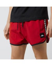 abf22ae39a6f3 Kappa Aguis Swim Shorts in Black for Men - Lyst