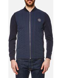 GANT - Cotton Knit Jacket - Lyst