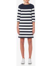 Joules - Mari Jersey Stripe Dress - Lyst