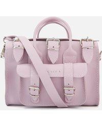 Grafea - Women's Baby Luna Leather Shoulder Bag - Lyst