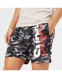 Superdry - Sd State Volley Swim Shorts - Lyst