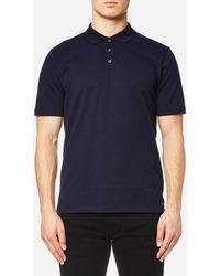 HUGO - Dateno Textured Polo Shirt - Lyst
