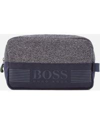 BOSS Green - Pixel Medium Washbag - Lyst