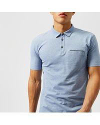 HUGO - Darrow Pocket Polo Shirt - Lyst