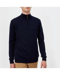 Joules - Hillside 1/4 Zip Knitted Jumper - Lyst