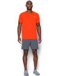 Under Armour | Men's Ua Coolswitch Run Shorts Sleeve | Lyst