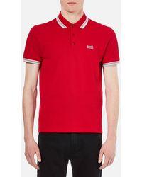 BOSS Green - Men's Paddy Polo Shirt - Lyst