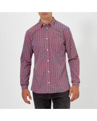44c30bbef14e Lyst - Tommy Hilfiger Bjork Plaid Shirt European Collection in Red ...