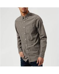 Tommy Hilfiger - Slim Fit Gingham Check Shirt - Lyst