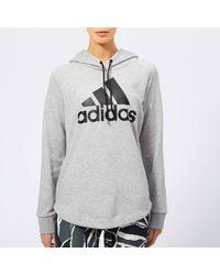 adidas - Must Haves Badge Of Sport Hoodie - Lyst