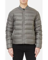 Michael Kors - Quilted Bomber Jacket - Lyst
