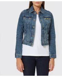 Barbour - Women's Durness Casual Denim Jacket - Lyst