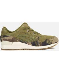 Asics - Gel-lyte Iii Men's Shoes (trainers) In Green - Lyst