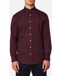 GANT - Windblown Oxford Check Shirt - Lyst