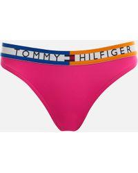 Tommy Hilfiger - Bikini Bottoms - Lyst