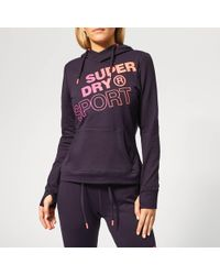 Superdry - Core Graphic Hoody - Lyst