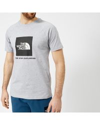 The North Face - Short Sleeve Raglan Red Box T-shirt - Lyst