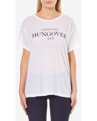 Wildfox - Women's Officially Hungover Manchester Tshirt - Lyst