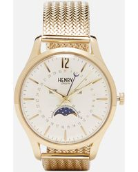 Henry London - Westminster Moon Phase Watch - Lyst