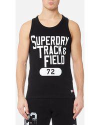 Superdry - Trackster Vest - Lyst