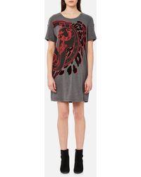Versace Jeans - T-shirt Dress - Lyst