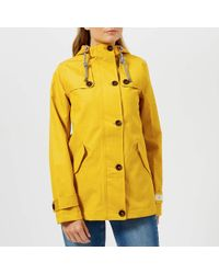 Joules - Coast Waterproof Hooded Jacket - Lyst