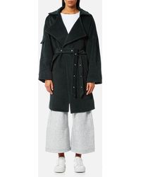 House Of Sunny - Upscale Textured Wool Coat - Lyst