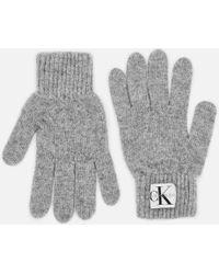 Calvin Klein - Basic Women Knitted Gloves - Lyst