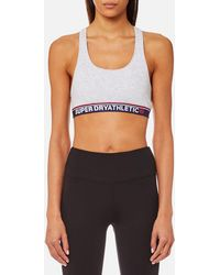 Superdry - Tricolour Athletic Bralet - Lyst