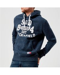 Superdry - Trackster Hoody - Lyst