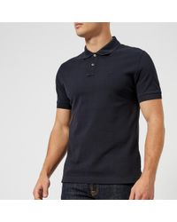 Aquascutum - Hill Cc Pique Short Sleeve Polo Shirt - Lyst