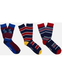 Joules - Socks And Shares Gift Set - Lyst