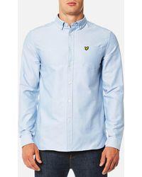 Lyle & Scott - Oxford Shirt - Lyst