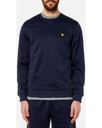 Lyle & Scott - Thompson Fleece Crew Neck Sweatshirt - Lyst