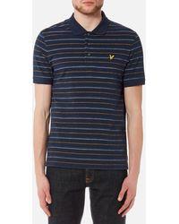Lyle & Scott - Pick Stitch Polo Shirt - Lyst