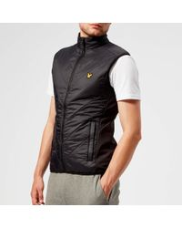 Lyle & Scott - Brandon Chevron Gilet - Lyst