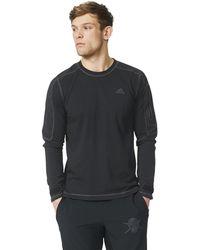 adidas - Workout Training Sweatshirt - Lyst