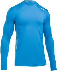 Under Armour - Coldgear Reactor Fitted Long Sleeve Top - Lyst