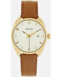 Nixon - The Bullet Leather Watch - Lyst