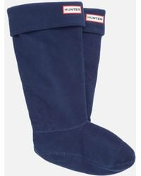 HUNTER - Unisex Tall Fleece Welly Socks - Lyst